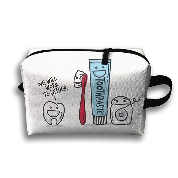 Amazon.com: Con Wristlet bolsas de cosméticos cepillo para ...