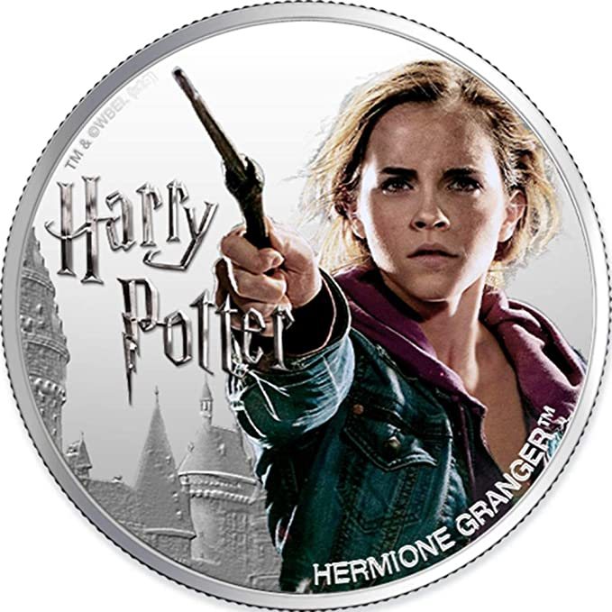 SILVER COIN 2021 HERMIONE GRANGER HARRY POTTER FIFTH IN SERIES 1 OZ