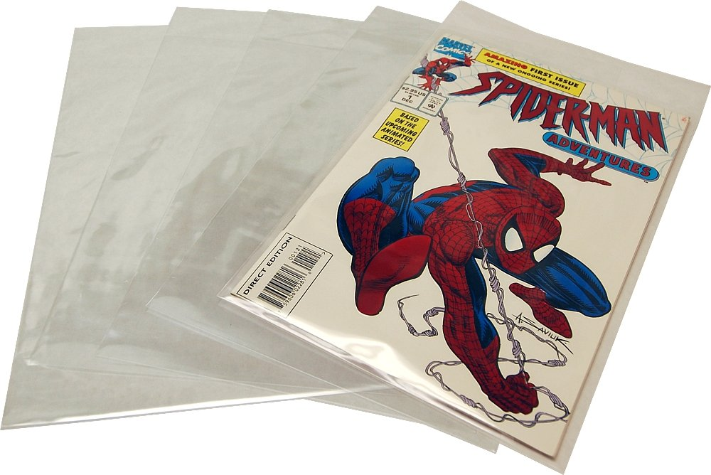 BCW (25) Current Age Mylar Comic Sleeves - 4 Mil Thick