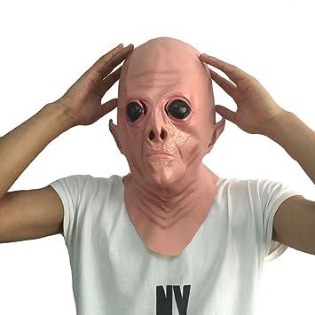 Queenshiny látex máscara realista Partido de Cosplay de Halloween Disfraz (Alien-2): Amazon.es: Juguetes y juegos