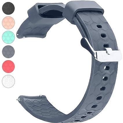 Amazon.com: Chofit Silicone Watch Band Strap 18mm 20mm 22mm ...