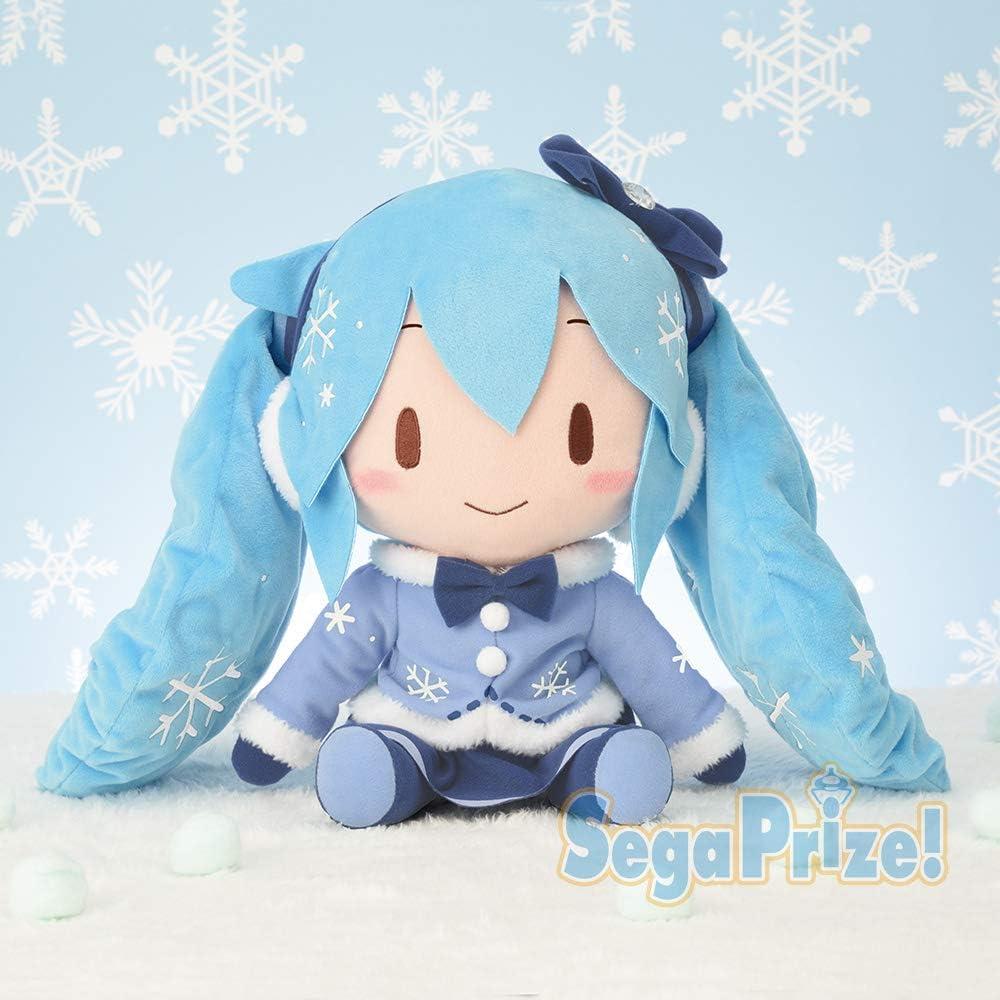SEGA Hatsune Miku series Special fluffy stuffed Soft plush Sakura Miku JAPAN