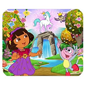 Mystic Zone Dora the Explorer Rectangle Mouse Pad (Black) - MZM00205 by ruishername