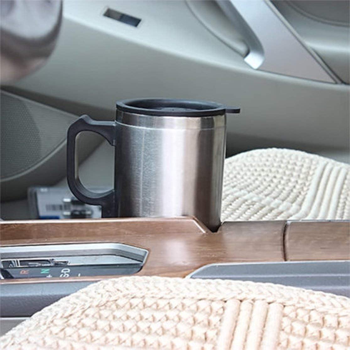 LouiseEvel215 Voiture Chauffage Tasse Auto 12v Tasse de Chauffage Bouilloire /Électrique Voitures Thermique Tasses Chauffe Eau Bouillie Bottel Accessoires Auto 500 ML C/âble