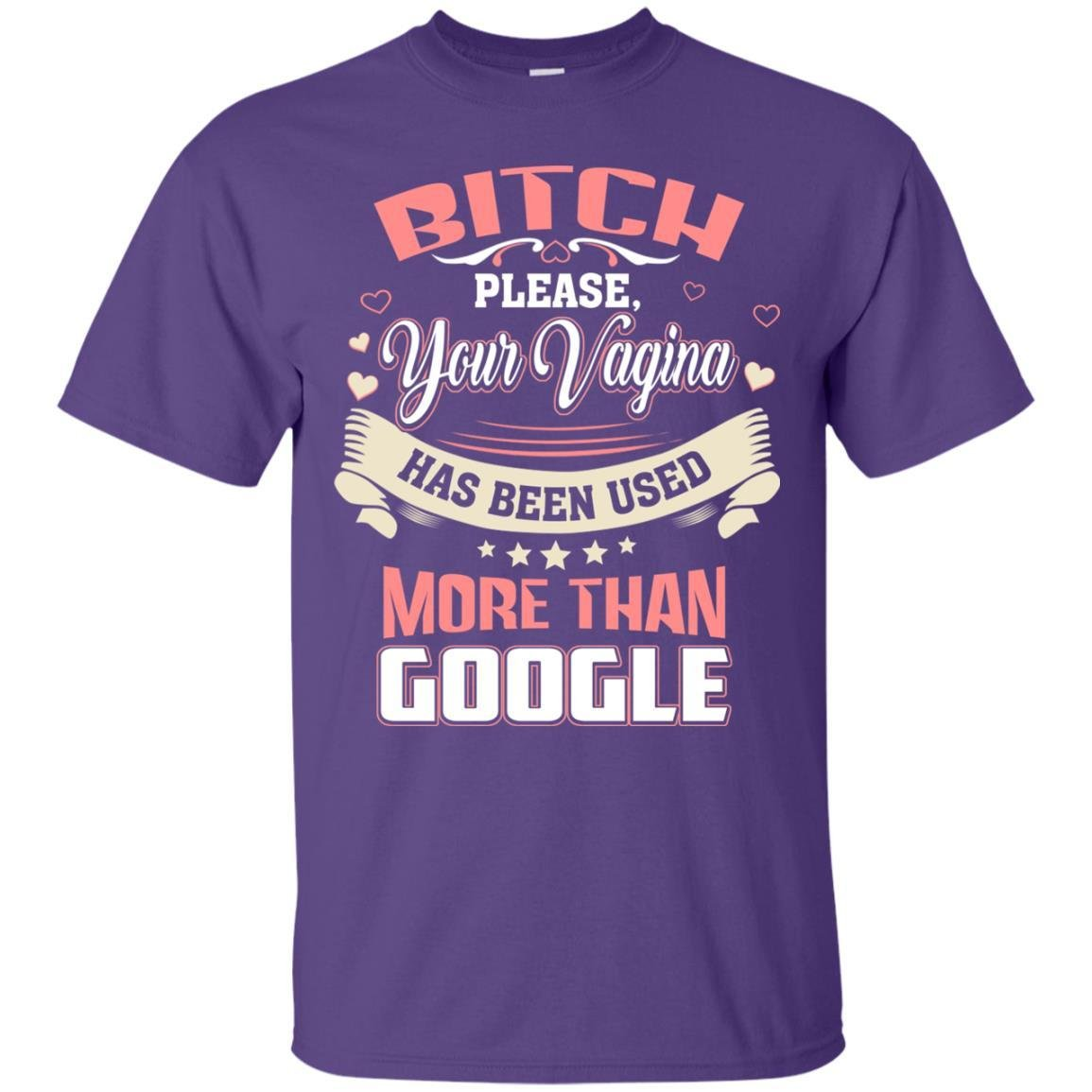 Bitch Please Your Vagina Has Been Used More Than Google T Shirt 2332