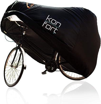 KON-FORT Funda Bicicleta Exterior Impermeable Tela Oxford 210D ...