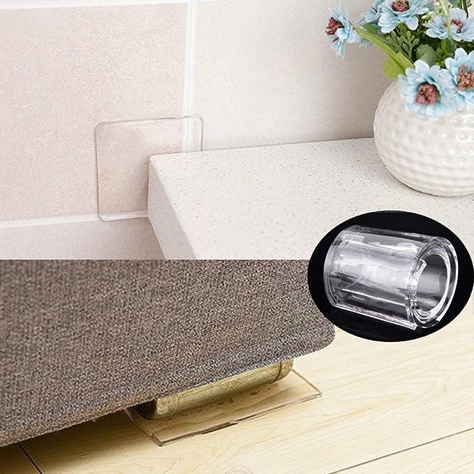 a prueba de golpes silenciador antideslizante antivibraci/ón multifuncional Almohadilla de silicona para muebles de lavadora