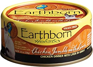 Earthborn Holistic Chicken Jumble With Liver Grain-Free Moist Cat Food