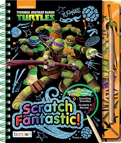 Artistic Studios Teenage Mutant Ninja Turtles Scratch ...