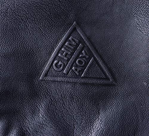 Amazon.com: LIERDAR - Chaqueta de piel sintética con ...