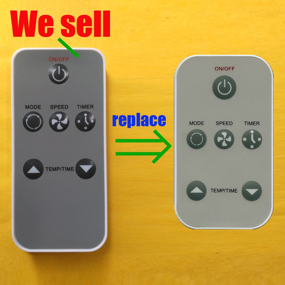 Replacement for Haier Air Conditioner Remote Control 0010403473 works for HWF05XCK-L HWF08XC5 HWR05XC5 HWR05XC6 HWR05XC7 HWR05XC9-L HWR05XCA HWR05XCJ HWR05XCJ-L HWR06XC5 HWR06XC5-T