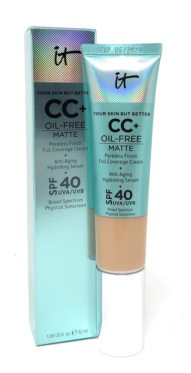 It Cosmetics Your Skin But Better CC Cream Oil-Free Matte with SPF 40 - Light         by It Cosmetics