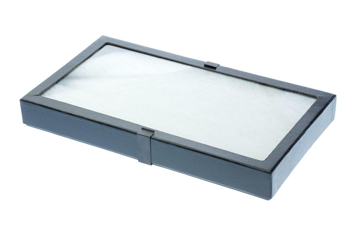 SE JT9216 Glass Top Display Box
