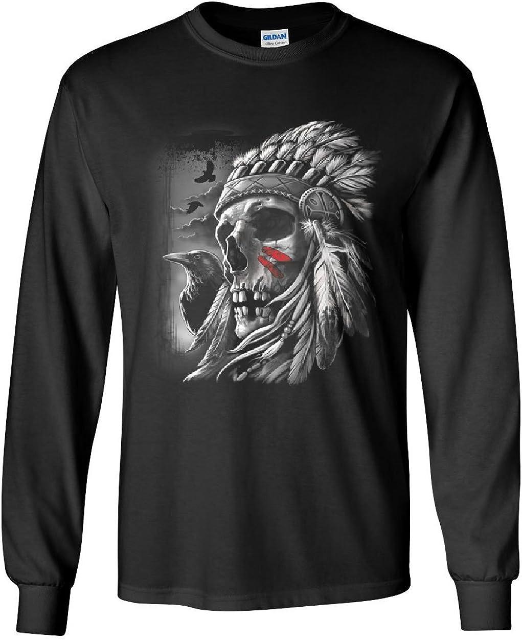 Indian Warbonnet Headdress Muscle Shirt Native American Tribal Chief Sleeveless