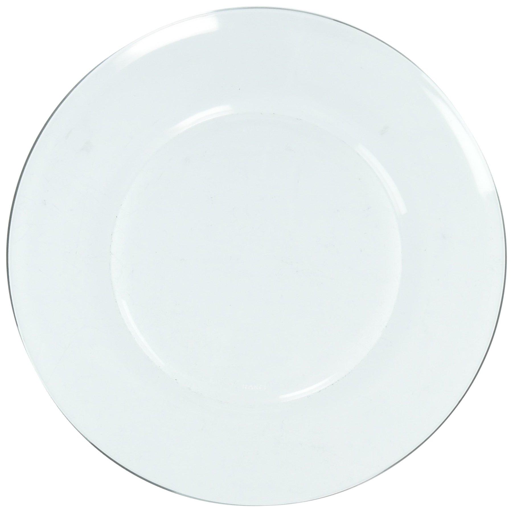 Duralex Made In France 3008AF06/4 Lys Dinnerware 7-1/2 Inch Salad /Dessert Plate.Set of 4