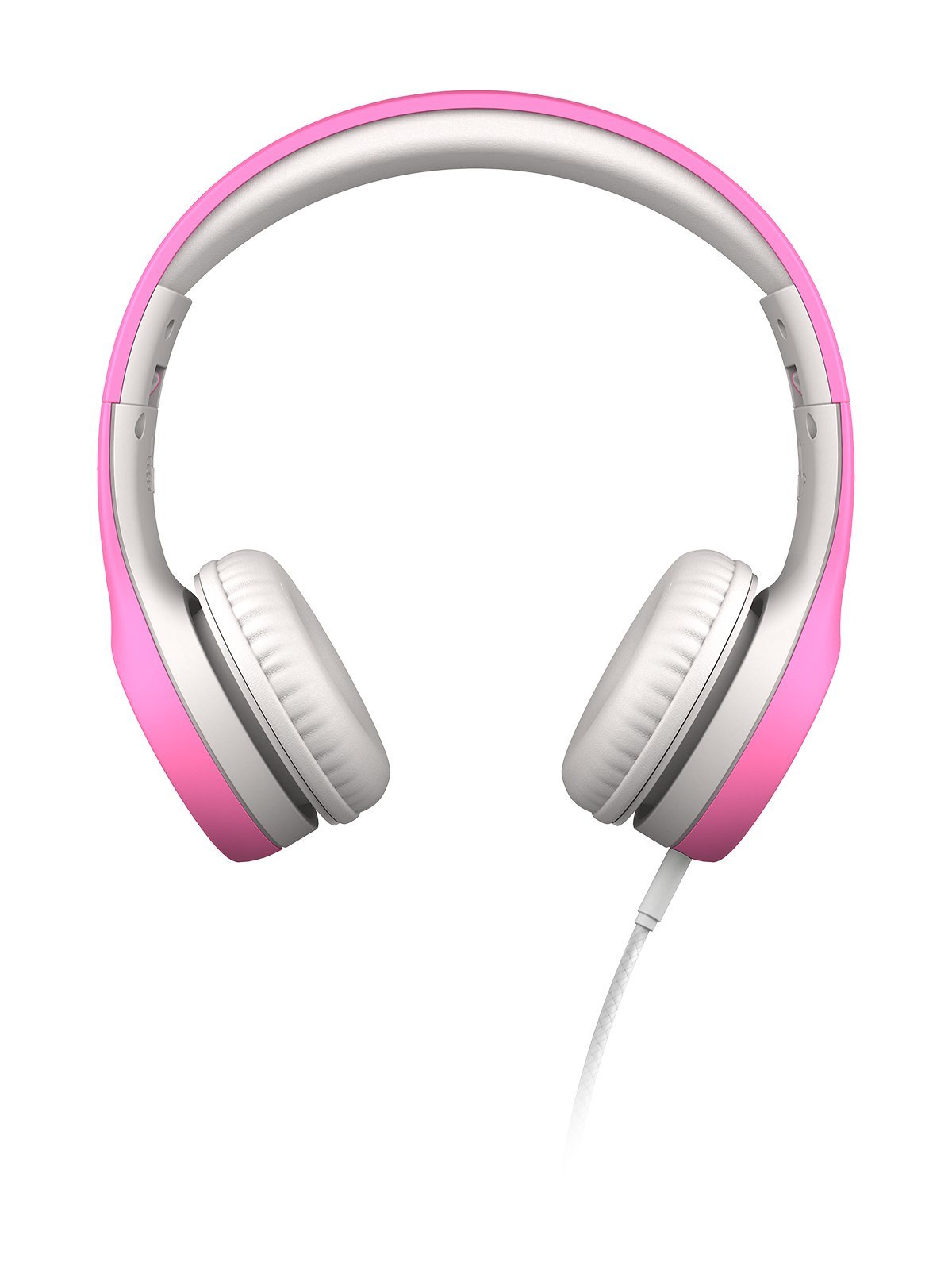 LilGadgets Connect+ Premium Volume Limited Wired Headphones with SharePort for Children/Kids (Pink)