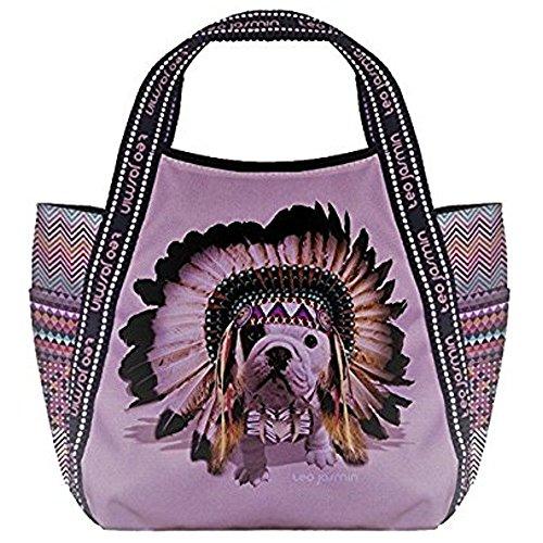 Borsa Shopping Donna Teo Jasmin Bag Tote Big Teo Apache Orchidee