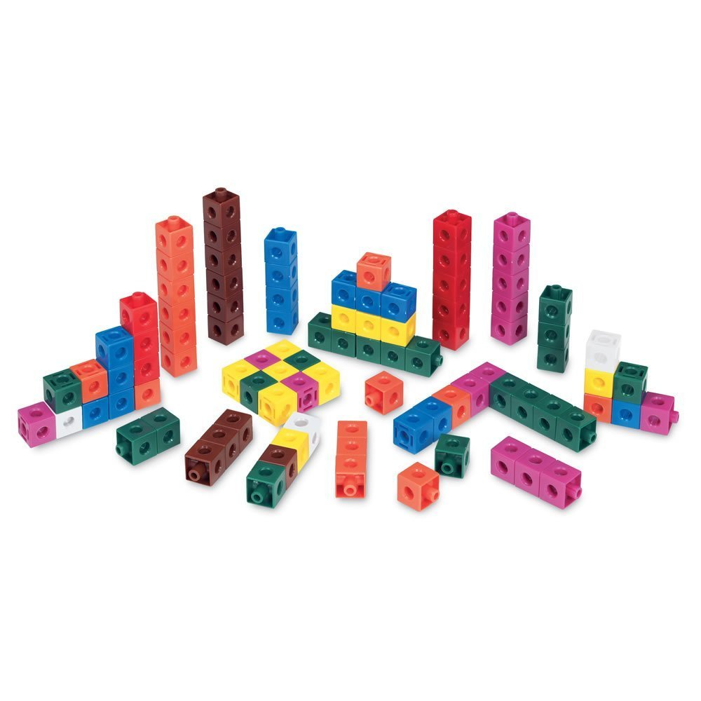 Cuisenaire Snap Cubes//Blocks for Learning Math in Different Colors