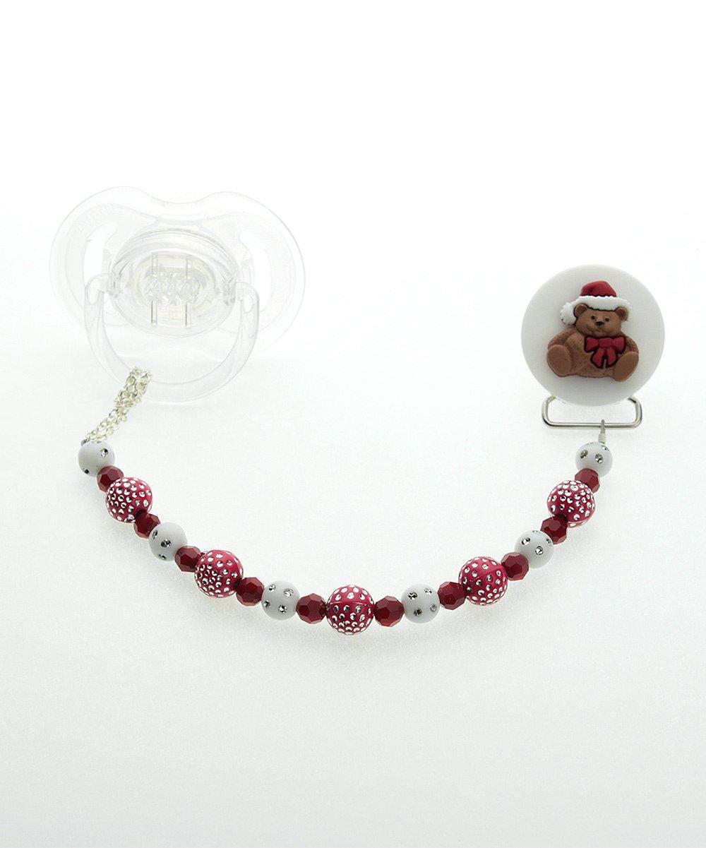 Amazon.com: Crystal Dream elegante festiva rojo y blanco ...