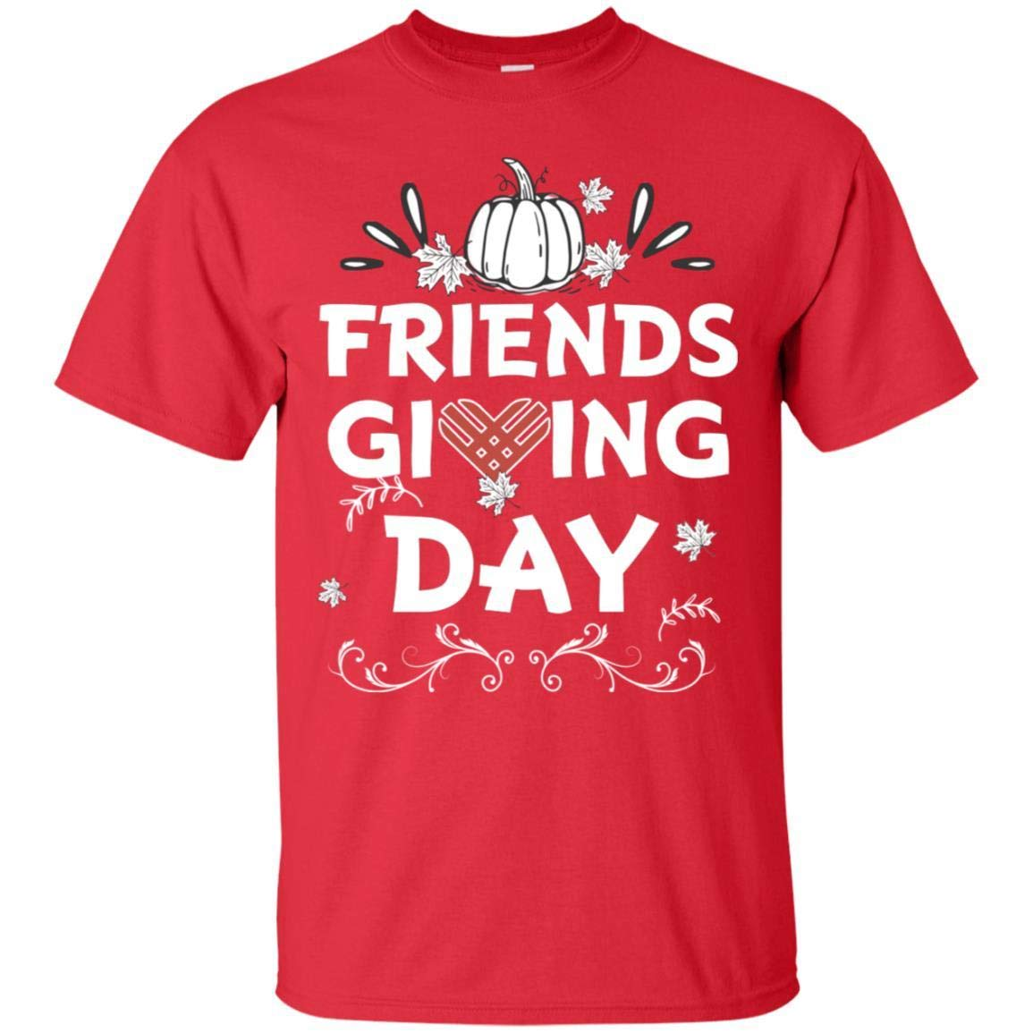 TeeAbelia Happy Friends Giving Day Shirt for Mens Or Womens