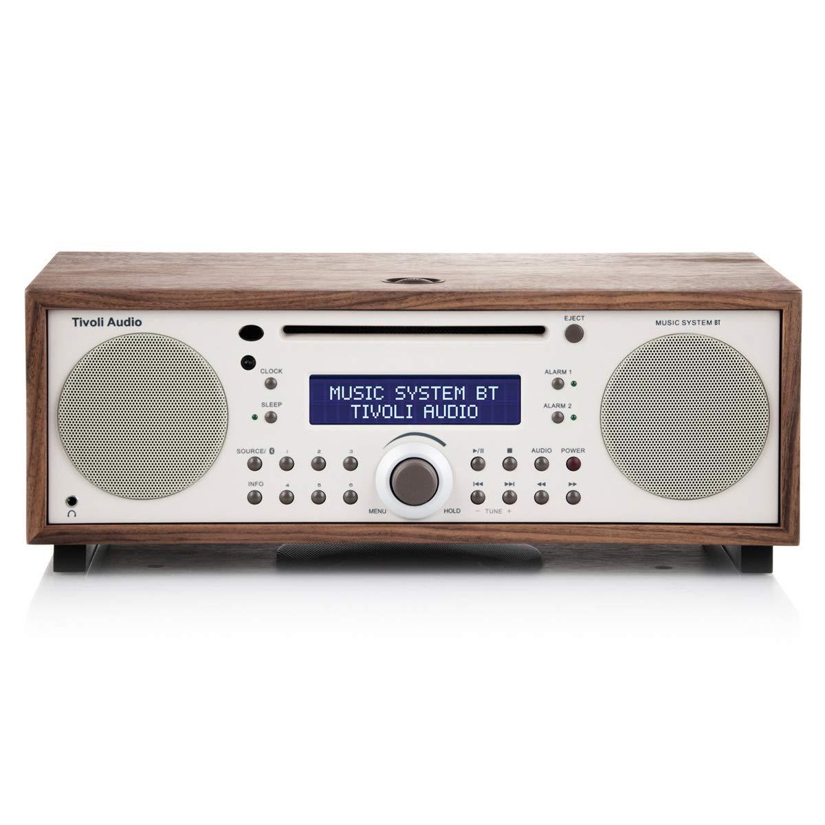 Tivoli Audio Music BT All-In-One Wireless Bluetooth System (Walnut/Beige)