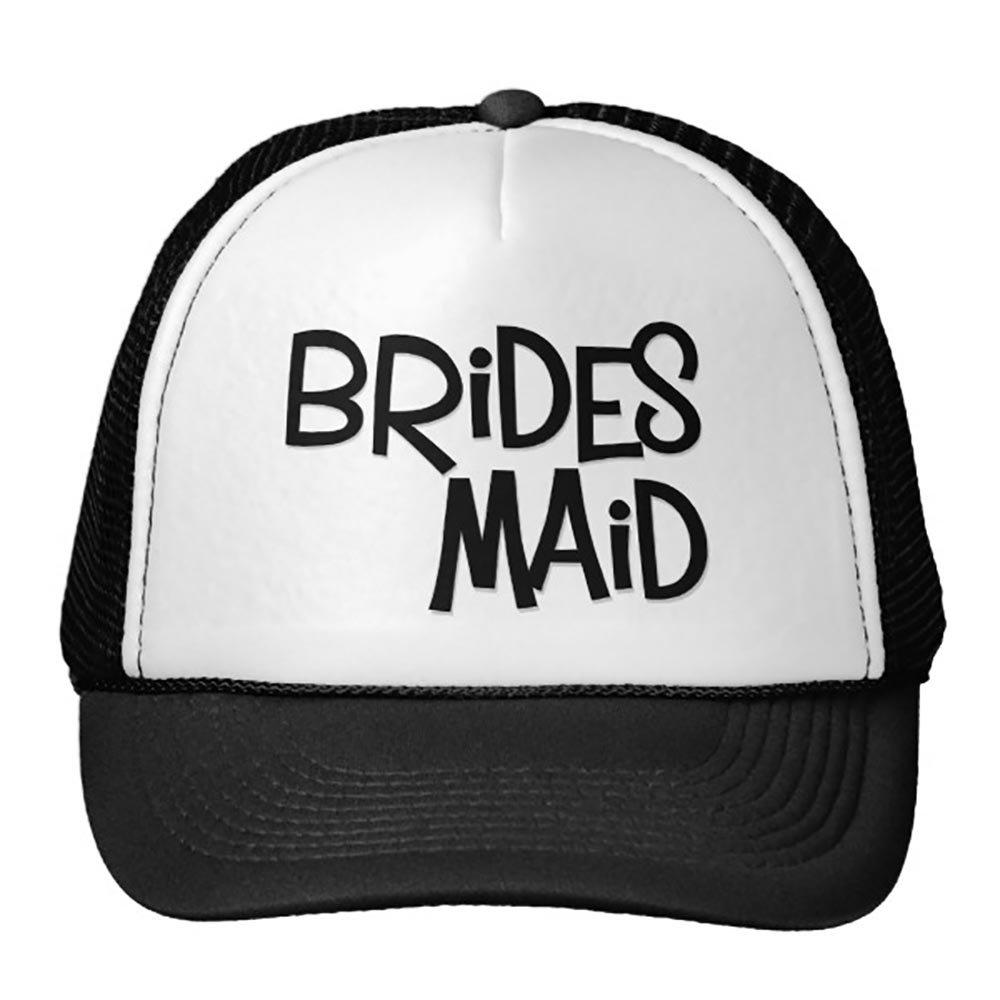 Smity 106 Hipster Bridesmaid Trucker Hat Black