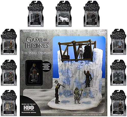 """Game of Thrones Complete Set of 3.75"""" Action Figures with Tyrion Lannister & The Wall Set """"IN STOCK"""""""