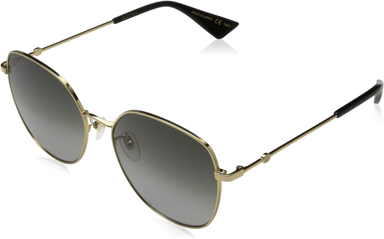 Gucci GG0415SK-001-59 Gafas, Multicolor, 59 Unisex Adulto