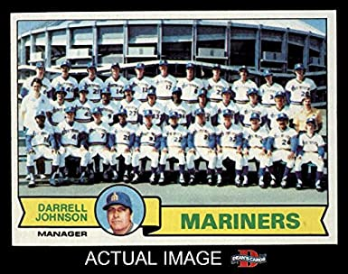 Amazoncom 1979 Topps 659 Mariners Team Checklist Seattle