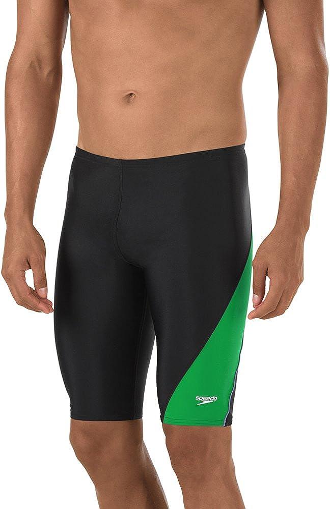 Speedo Mens Mens and Boys' Powerflex Eco Revolve Splice Jammer Swimsuit