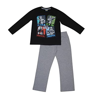 2 PCS SET STAR WARS RRBELS Boys Fall / Winter Pajama Top & Pants Set