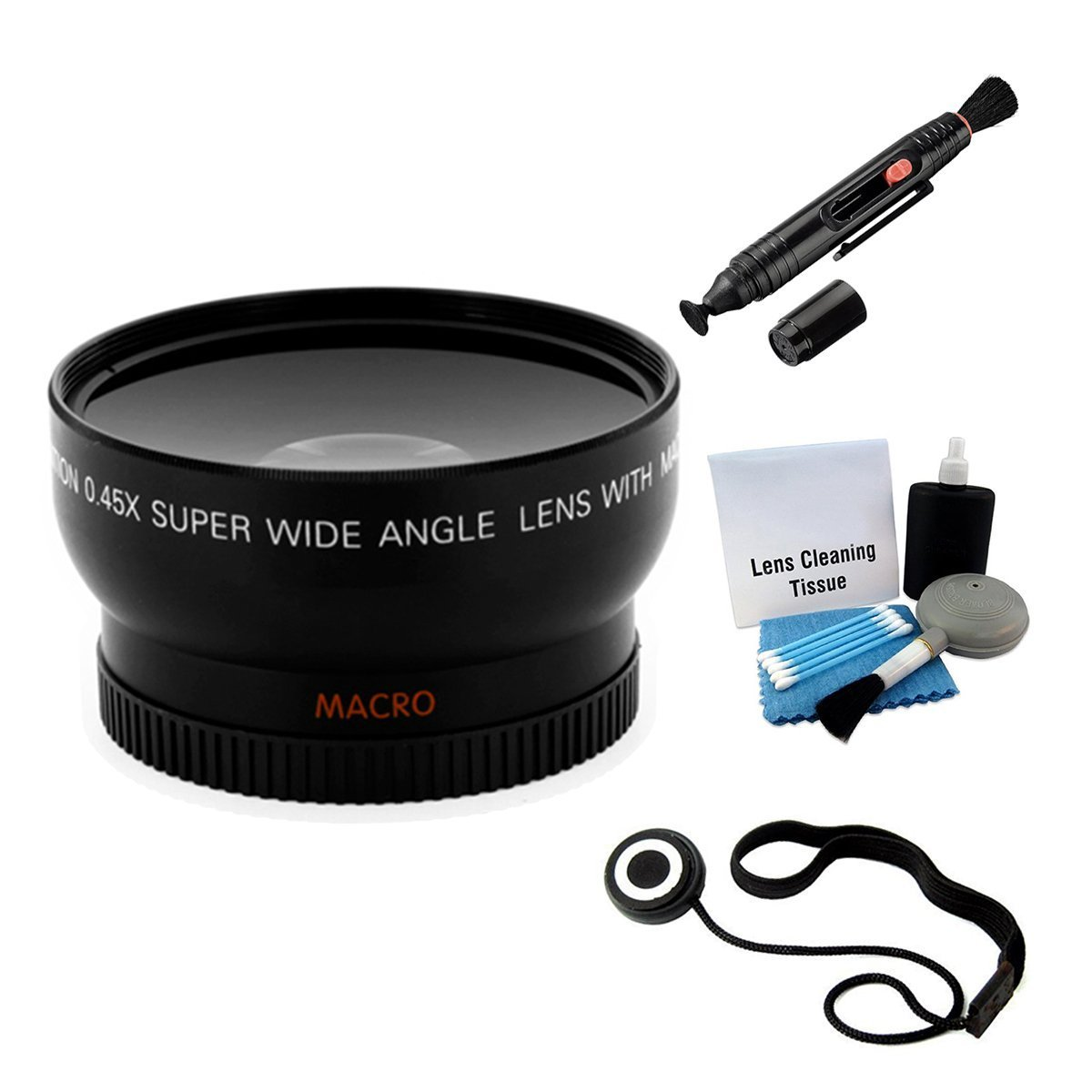 UltraPro 58mm Digital Wide Angle/Macro Lens Bundle for Nikon D3400 DSLR Camera with 70-300mm Lens. UltraPro Deluxe Accessory Set Included by UltraPro