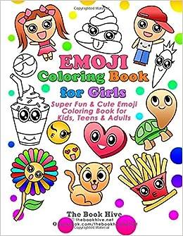 Emoji Coloring Books For Girls Paint Books For Kids Boys Girls
