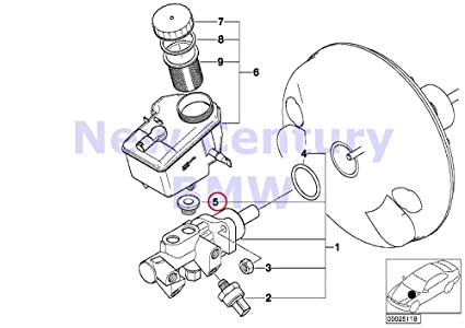 Amazon Com Bmw Genuine Brake Master Cylinder Sealing Plug 318i