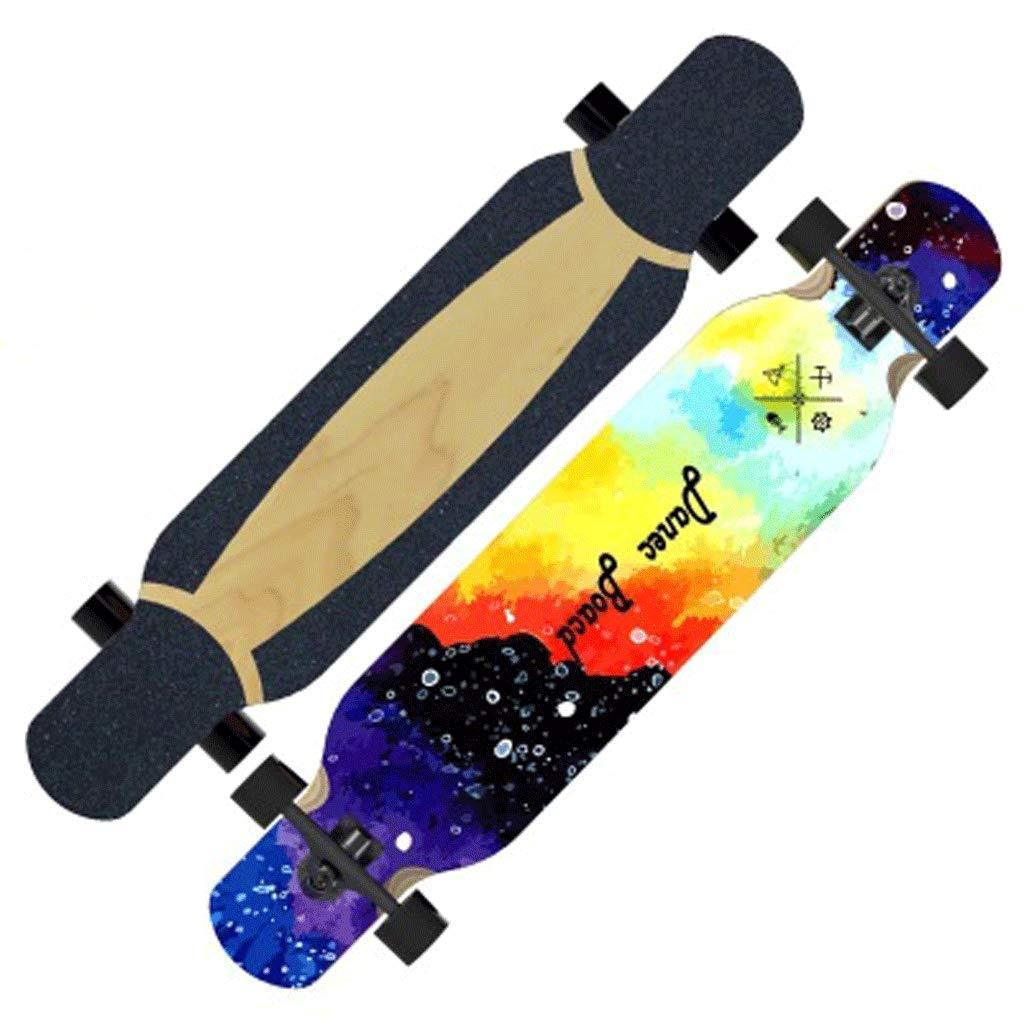 豪華で新しい プロフェッショナルストリートロードスケートボードアップグレード版ダンスボードロングボードアダルト初心者 (色 (色 : Ink) B07KT24N1F : Ink, 能登 カネヨ醤油:cb557b47 --- a0267596.xsph.ru