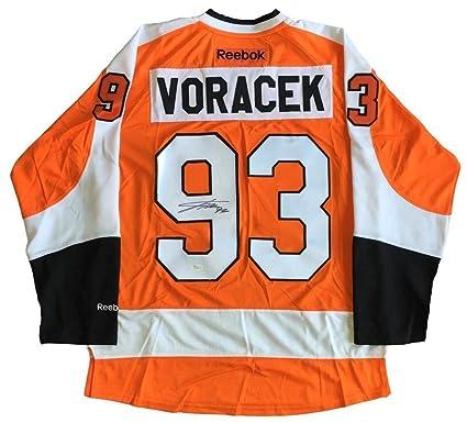 83b5898f Image Unavailable. Image not available for. Color: Jakub Voracek  Autographed Signed Philadelphia Flyers Reebok ...