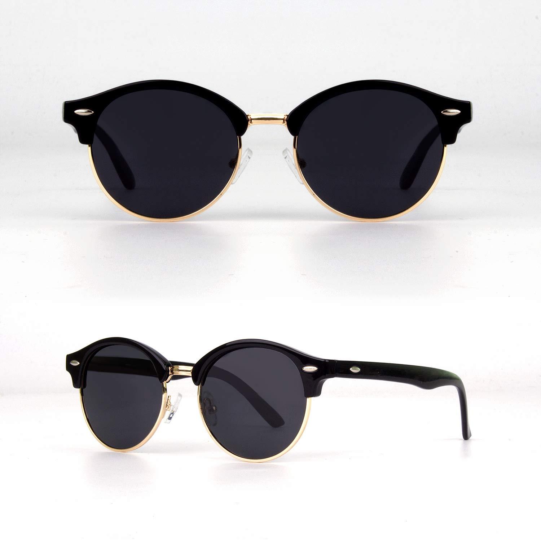 paquete de 2 GQUEEN Gafas de sol de conducci/ón para hombre de 58 mm polarizadas y gafas de visi/ón nocturna