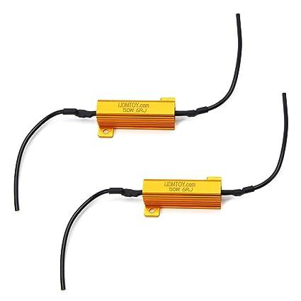 led turn signal resistor wiring diagram 2x load resistor 50w 6ohm rh bigshopgo pw