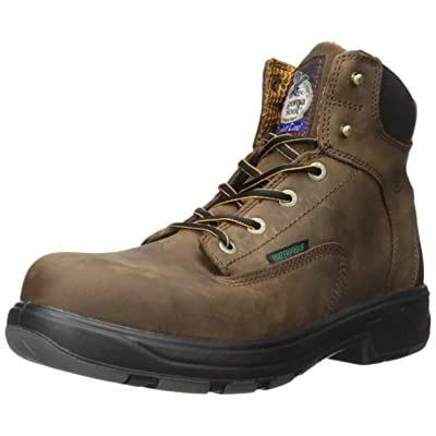 "Georgia Boot Men's Georgia FLXpoint 6"" CT Boot-M Steel Toe Work 