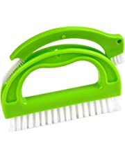 ATPWONZ Desmontable Cepillo de Limpieza Multifuncional para Ventana,Piso,baldosas de cerámica,pared de Hogar (Verde)