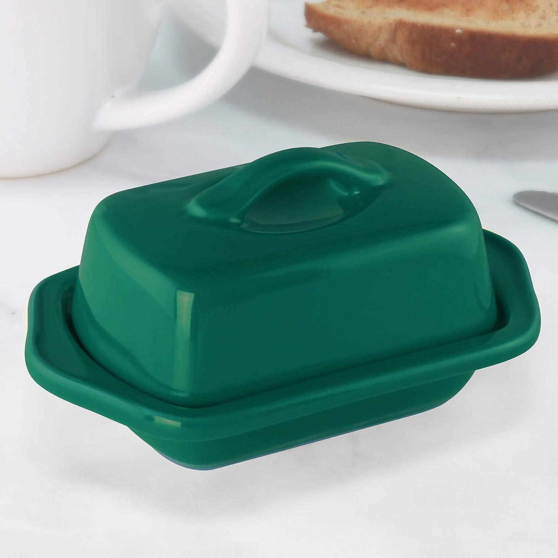 Brunswick Green 5 inch Chantal Mini Butter Dish