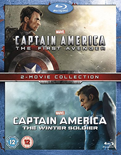 Captain America/Captain America: The Winter Soldier Double Pack (Blu Ray Captain America The Winter Soldier)