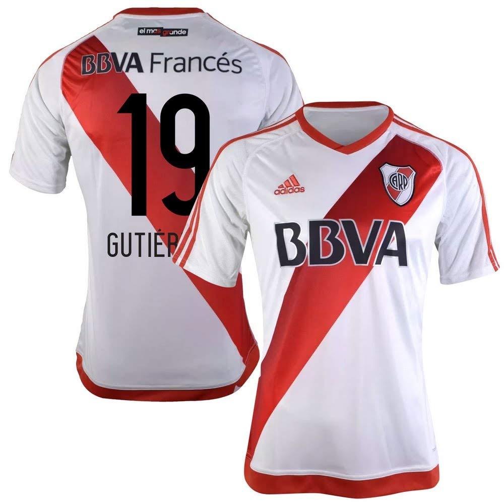 River Plate Home Trikot 2016 2017 + Gutierrez 19 (Fan Stye)