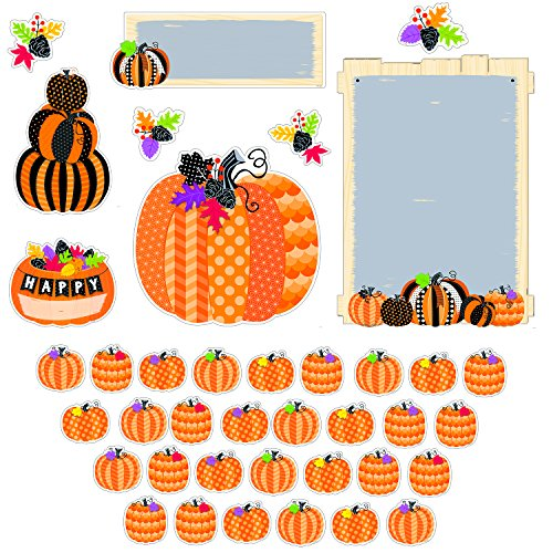 Creative Teaching Press Pumpkin Patch Bulletin Board -