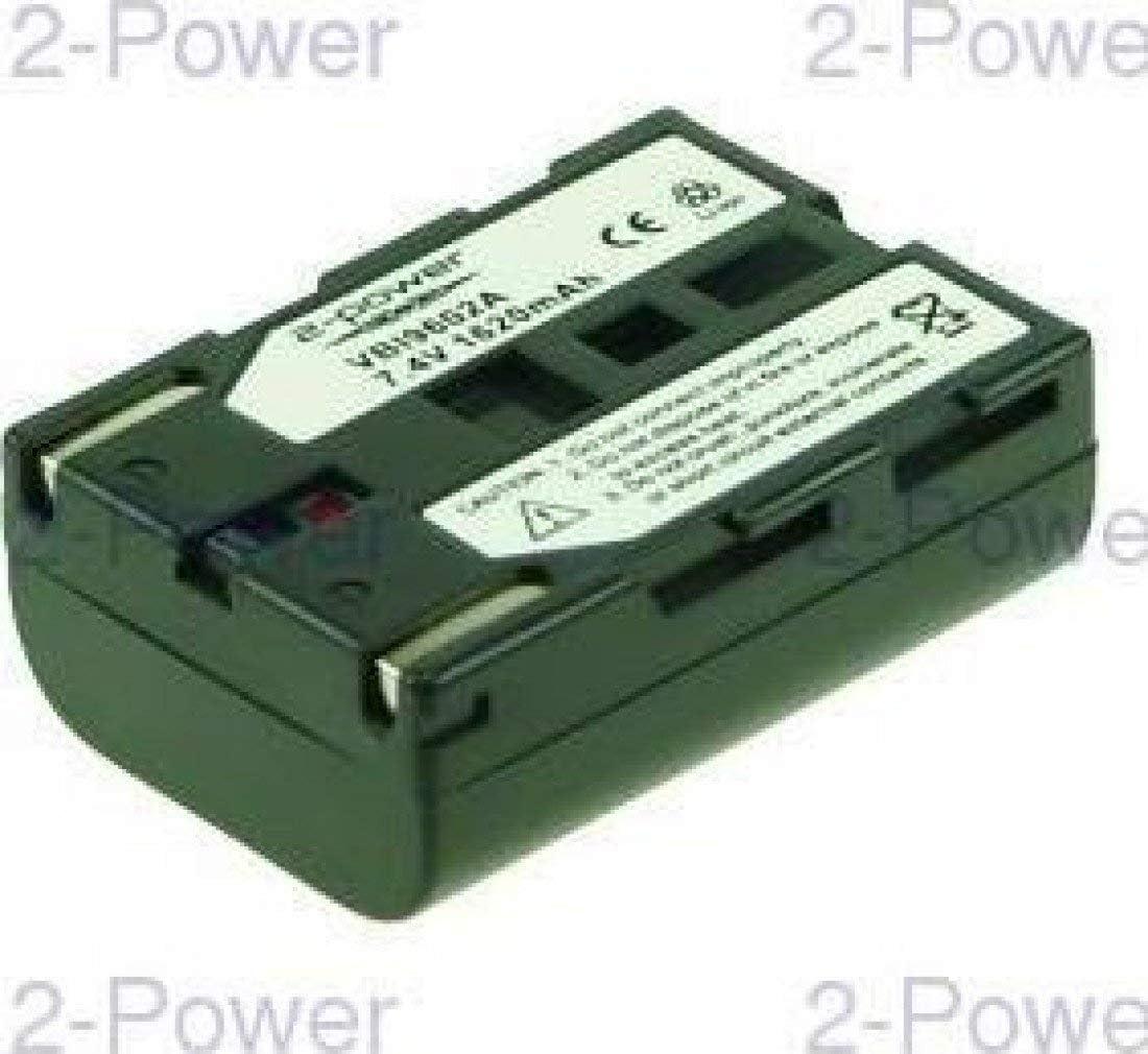 Bater/ías para c/ámara//grabadora 2-Power VBI9602A bater/ía para c/ámara//grabadora I/ón de Litio 1500 mAh I/ón de Litio, 1500 mAh, C/ámara, Samsung SB-L100, 7,4 V, 11 WH
