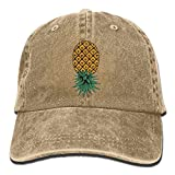 MNBHat Upside Down Pineapple Snapback Cotton Hat Natural