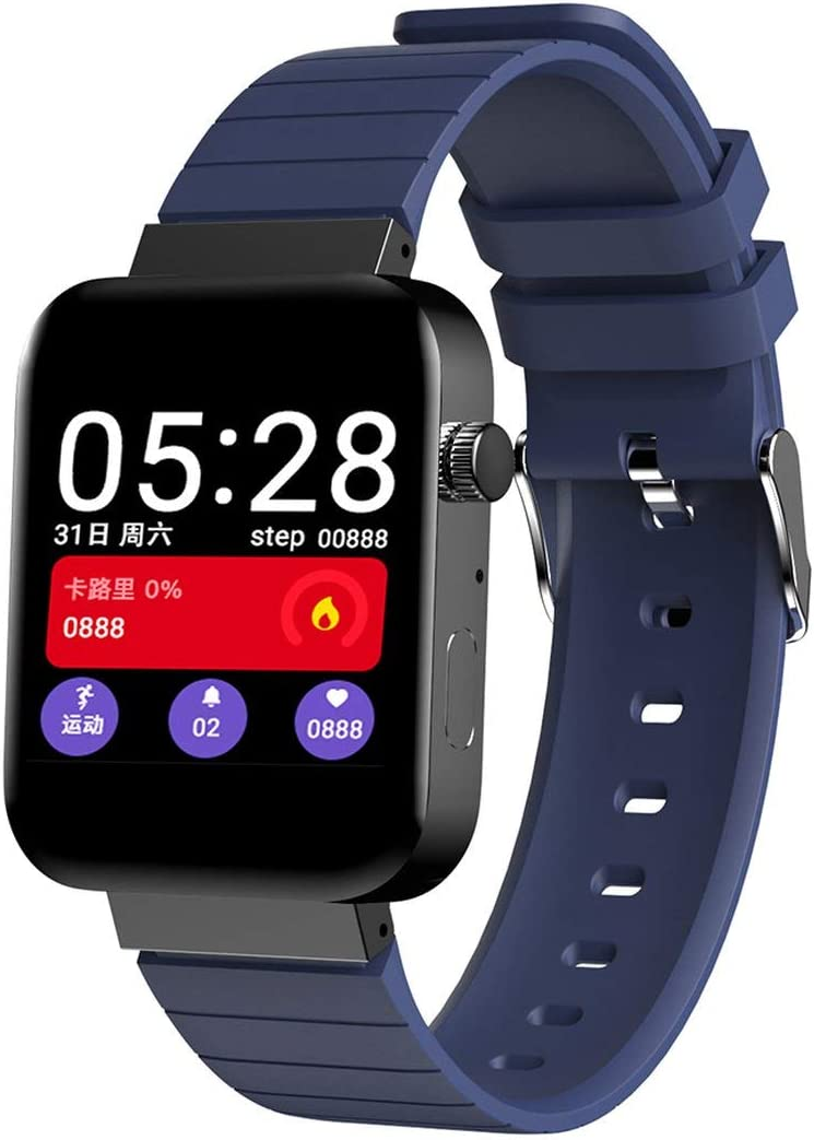 Fassd Nuevo Reloj Inteligente de Pantalla táctil X6 para cámara Reloj Inteligente para Hombres para iPhone para Xiaomi para teléfono Android