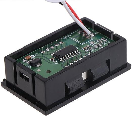Pantalla LCD Del Medidor De Temperatura Interior ACU/ÁTICO DC12V Term/ómetro Digital Para Autom/óvil Se Puede Seleccionar Dos Retroiluminaci/ón Exterior Del Autom/óvil LCD Para Camiones Y Camiones