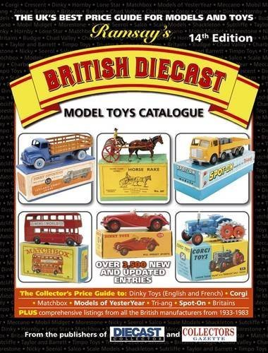Ramsay's British Diecast Model Toys Catalogue by Burrows. Denise ( 2012 ) Paperback