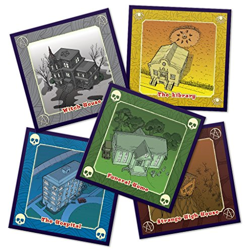 WizKids 73285 A'writhe: A Game of Eldritch Contortions Board